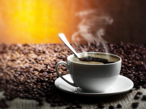 table-grains-saucer-cup-spoon-coffee-drink-smoke
